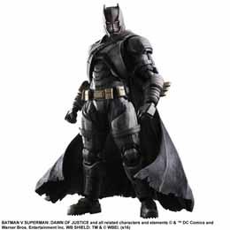BATMAN V SUPERMAN DAWN OF JUSTICE PLAY ARTS KAI FIGURINE ARMORED BATMAN 25 CM