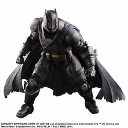Photo du produit BATMAN V SUPERMAN DAWN OF JUSTICE PLAY ARTS KAI FIGURINE ARMORED BATMAN 25 CM Photo 2