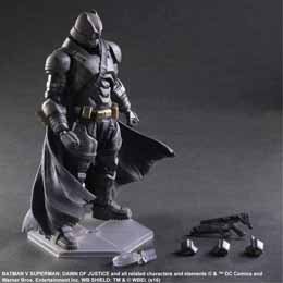 Photo du produit BATMAN V SUPERMAN DAWN OF JUSTICE PLAY ARTS KAI FIGURINE ARMORED BATMAN 25 CM Photo 3