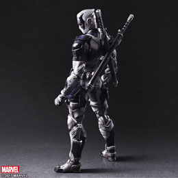 Photo du produit MARVEL COMICS VARIANT PLAY ARTS KAI FIGURINE DEADPOOL X-FORCE VER. 27 CM Photo 1