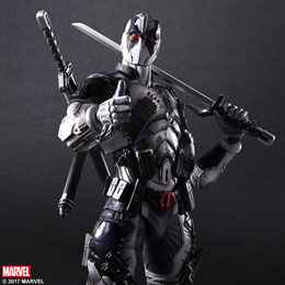 Photo du produit MARVEL COMICS VARIANT PLAY ARTS KAI FIGURINE DEADPOOL X-FORCE VER. 27 CM Photo 2