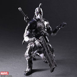 Photo du produit MARVEL COMICS VARIANT PLAY ARTS KAI FIGURINE DEADPOOL X-FORCE VER. 27 CM Photo 3