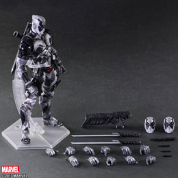 Photo du produit MARVEL COMICS VARIANT PLAY ARTS KAI FIGURINE DEADPOOL X-FORCE VER. 27 CM Photo 4