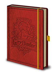 HARRY POTTER CARNET DE NOTES PREMIUM A5 GRYFFINDOR