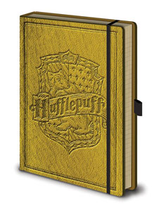HARRY POTTER CARNET DE NOTES PREMIUM A5 HUFFLEPUFF