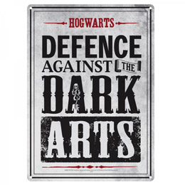 PETITE PLAQUE METAL HARRY POTTER DARK ARTS