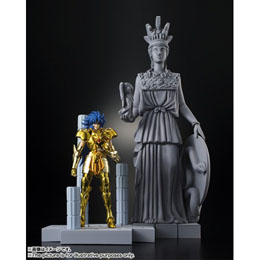 Photo du produit SAINT SEIYA DD PANORAMATION GEMINI SAGA 10CM CHAMBRE DU GRAND POPE + STATUE ATHENA BONUS 1ERE EDITION Photo 1