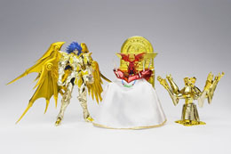 SAINT SEIYA MC EX SOUL OF GOLD SAGA GEMINIS PREMIUM SET 18CM