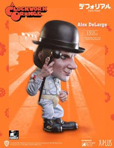 Photo du produit Orange mécanique statuette Defo-Real Series Alex DeLarge 15 cm Photo 3