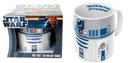 Photo du produit STAR WARS MUG RELIEF 2D R2D2