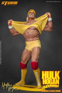 STATUETTE WWE WRESTLING 1/4 HULK HOGAN HULKAMANIA 49 CM