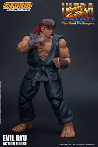ULTRA STREET FIGHTER II: THE FINAL CHALLENGERS FIGURINE 1/12 EVIL RYU 15 CM