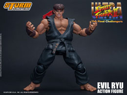 Photo du produit ULTRA STREET FIGHTER II: THE FINAL CHALLENGERS FIGURINE 1/12 EVIL RYU 15 CM Photo 3