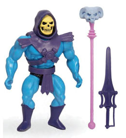 MASTERS OF THE UNIVERSE VINTAGE COLLECTION FIGURINE SKELETOR 14 CM
