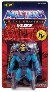 Photo du produit MASTERS OF THE UNIVERSE VINTAGE COLLECTION FIGURINE SKELETOR 14 CM Photo 1