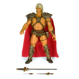 MASTERS OF THE UNIVERSE FIGURINE COLLECTOR'S CHOICE WILLIAM STOUT COLLECTION HE-MAN 18 CM
