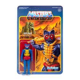MASTERS OF THE UNIVERSE FIGURINE REACTION MER-MAN (CARRY CASE COLOR) 10 CM