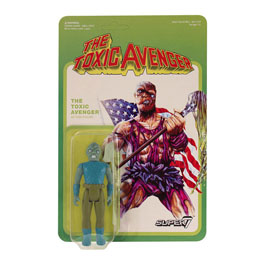 TOXIC AVENGER FIGURINE REACTION MOVIE VARIANT 10 CM