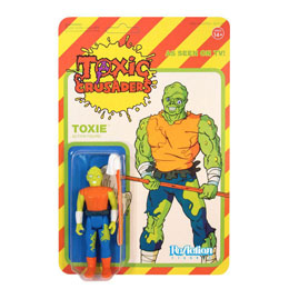 TOXIC AVENGER FIGURINE REACTION TOXIC CRUSADER VARIANT 10 CM