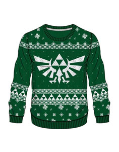 SWEAT LEGEND OF ZELDA GREEN ZELDA X-MAS
