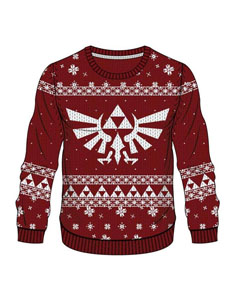 Photo du produit SWEAT LEGEND OF ZELDA RED ZELDA X-MAS
