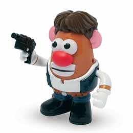 STAR WARS MR PATATE HAN SOLO