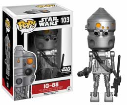 Photo du produit STAR WARS POP! FIGURINE IG-88 LIMITED
