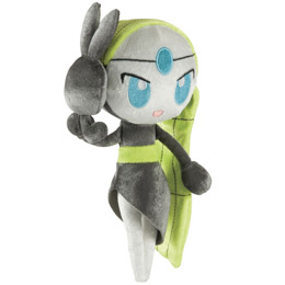 POKEMON PELUCHE 20TH ANNIVERSARY MELOETTA