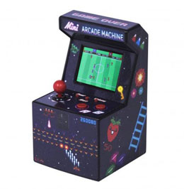 Photo du produit MINI ARCADE MACHINE 240 JEUX 20 CM Photo 1