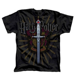 HARRY POTTER T-SHIRT GRYFFINDOR SWORD