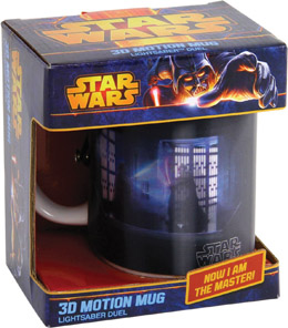 Photo du produit MUG STAR WARS 3D DUEL SABRE