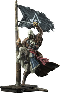ASSASSINS CREED IV BLACK FLAG EDWARD KENWAY MASTER OF THE SEAS STATUE PVC 4