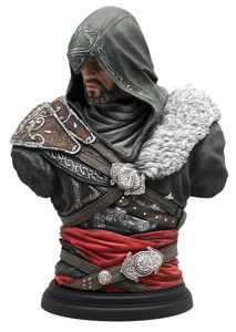 ASSASSIN'S CREED LEGACY COLLECTION BUSTE EZIO MENTOR