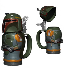 Star Wars chope Boba Fett