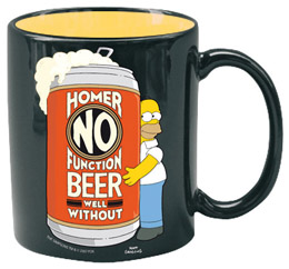 SIMPSONS MUG CÉRAMIQUE HOMER NO FUNCTION