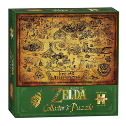 PUZZLE LEGEND OF ZELDA HYRULE MAP
