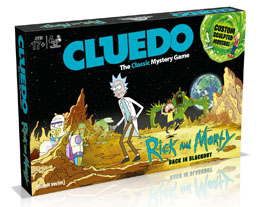 RICK ET MORTY JEU DE PLATEAU CLUEDO BACK IN BLACKOUT (VERSION ANGLAISE)
