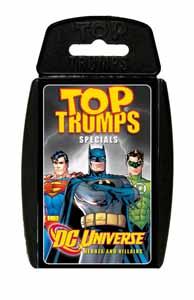 DC SUPERHEROES TOP TRUMPS (ANGLAIS)