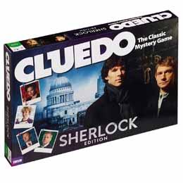 CLUEDO SHERLOCK (ANGLAIS)