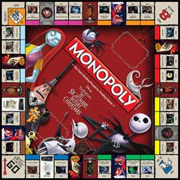 Photo du produit MONOPOLY L'ETRANGE NOEL DE MONSIEUR JACK *ANGLAIS* Photo 2