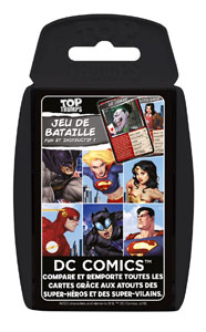 Photo du produit DC COMICS JEU DE CARTES TOP TRUMPS