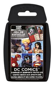 DC COMICS JEU DE CARTES TOP TRUMPS
