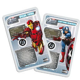 Photo du produit JEU DE CARTES TOP TRUMPS THE AVENGERS (VERSION FRANCAISE) Photo 1