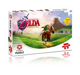 PUZZLE LEGEND OF ZELDA PUZZLE OCARINA OF TIME