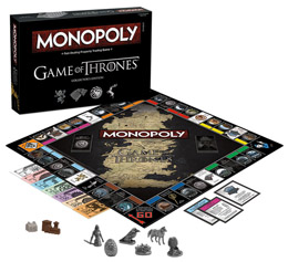 GAME OF THRONES MONOPOLY COLLECTORS EDITION VERSION ANGLAISE