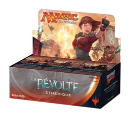 36 BOOSTERS MAGIC THE GATHERING LA REVOLTE ETHERIQUE AVEC PRESENTOIR (Francais)