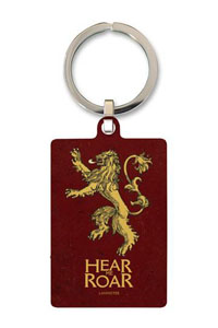 GAME OF THRONES PORTE CLE METAL LANNISTER 6 CM