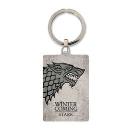 GAME OF THRONES PORTE CLE METAL STARK 6 CM
