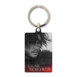 GAME OF THRONES PORTE CLE METAL JON SNOW 6 CM