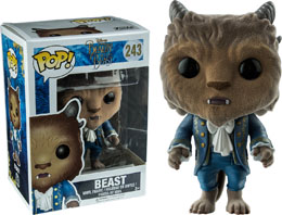 LA BELLE ET LA BETE FUNKO POP BEAST FLOCKED